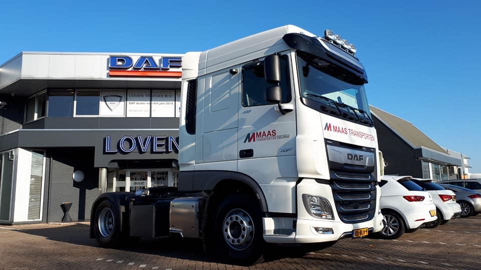 Maas Transport - Loven - Loven Trucks - DAF Limburg Nederland