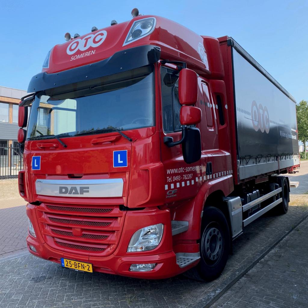 OTC Someren opleidings- en trainingscentrum - Loven Trucks Helmond - DAF CF