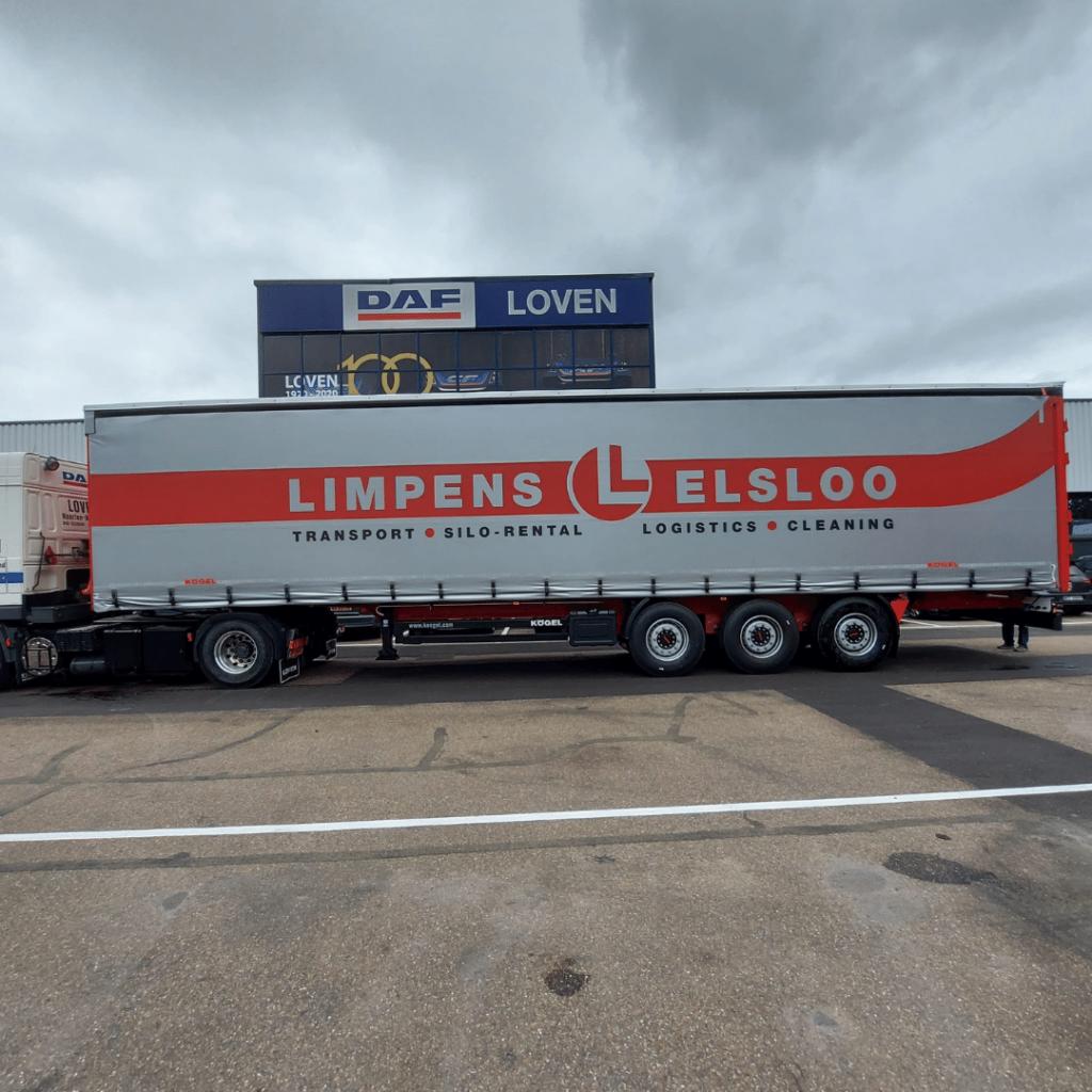 Limpens Elslo - Loven Trucks - Kögel Trailers
